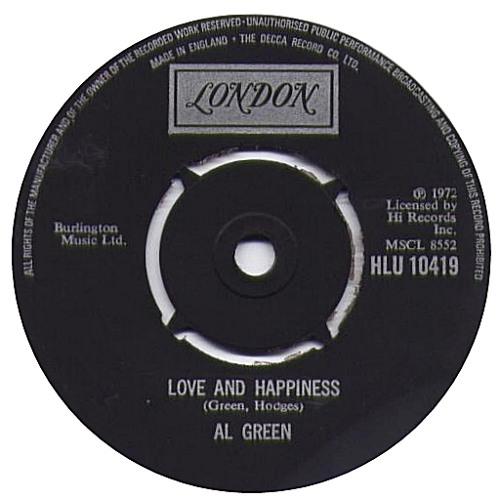 Al Green - Love and Happiness (Seltsam Edit)