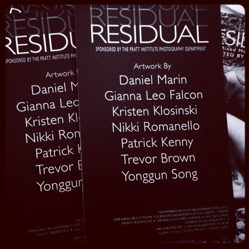 56 Residual Opens Tonight at 1101 Brown Street