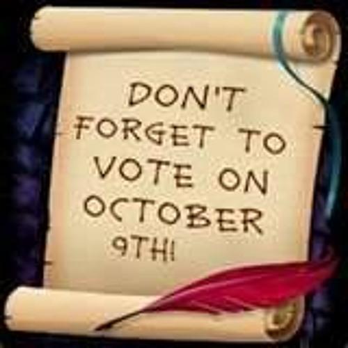 October For Mayor