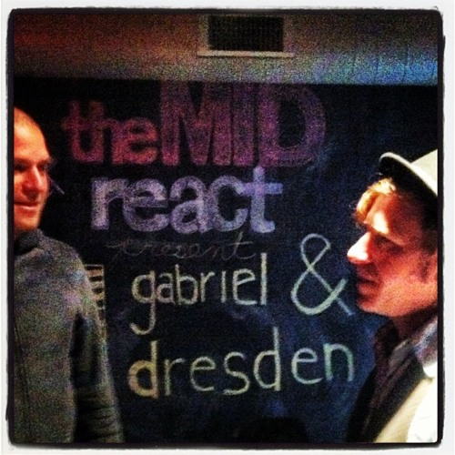 Gabriel & Dresden live at The Mid Chicago Nov 4th 2012