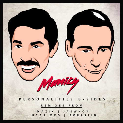 Personalities by Manics(Lucas Med Remix) OUT ON BEATPORT NOV/20Th