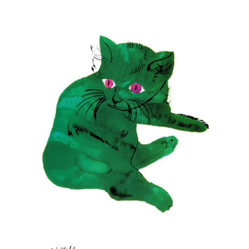 Andy Warhol's Cat
