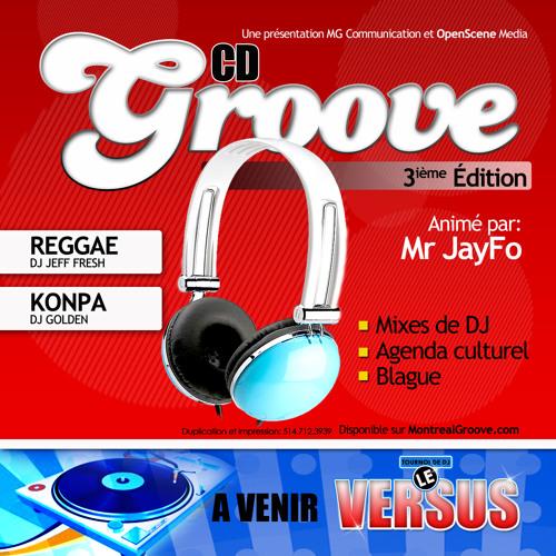 Cd Groove 3ième Édition