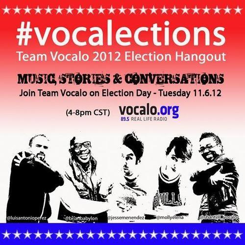 Vocalo Election Night Coverage 6pm-8pm