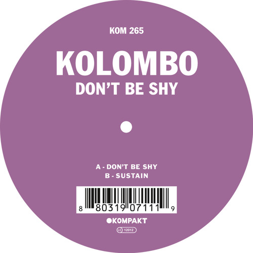 Kolombo - Don't Be Shy - EP (Kompakt)