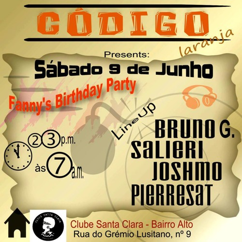 Salieri - Live @ Codigo Laranja [June 9th 2012] Lisbon, Portugal