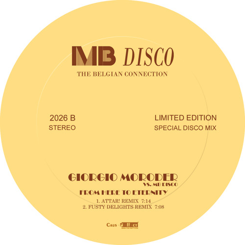 Giorgio Moroder vs MB Disco : From Here To Eternity (ATTAR! Remix)