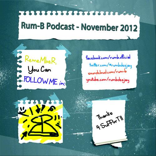Rum-B - Podcast [November 2012]