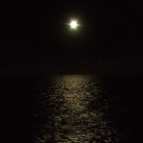 night at the ocean
