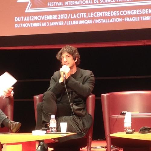"""""""The Ocean at the end of the lane"""" Neil Gaiman at Cité des Congrès"""