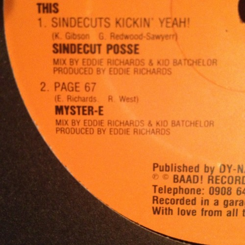 Page 67 - Myster-E on Baad Records 1987