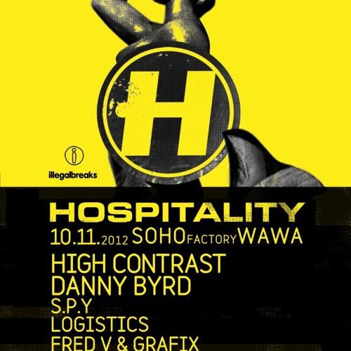 KD3 - Live @ Hospitality Poland (Soho Factory 10.11.12)