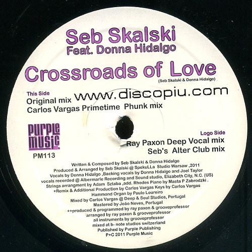 3.Seb Skalski Ft. Donna Hidalgo - Crossroads of Love ( Ray Paxon Deep Vocal mix )