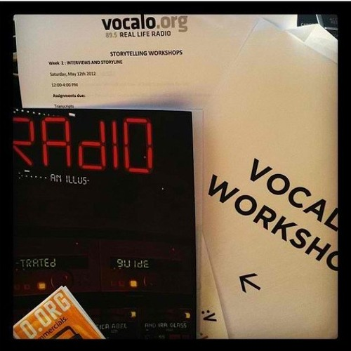 Vocalo Storytellers Fall 2012