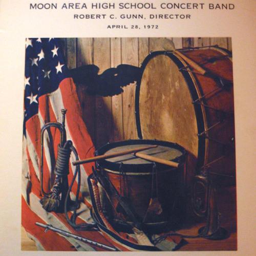 Moon High School 1972, Rainy Days and Monday, by Holcombe - Cathy Lubon Marimba Soloist