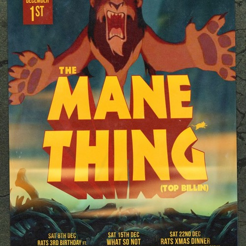 The Mane Thing Live @ Rats 4 8 12