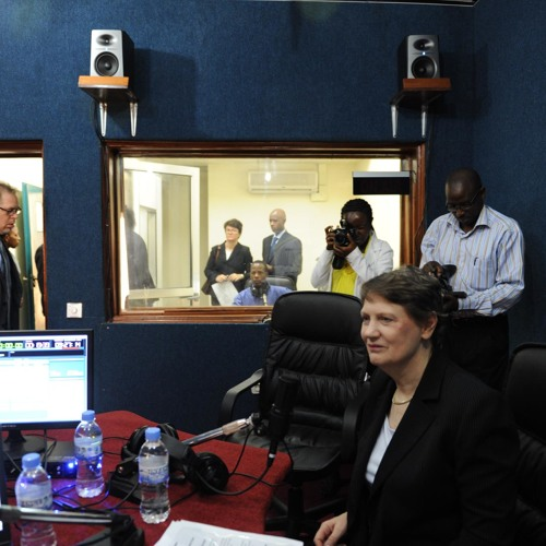 Helen Clark, UNDP Administrator in Interview on air live from Radio Inteko Rwanda 30 10 2012
