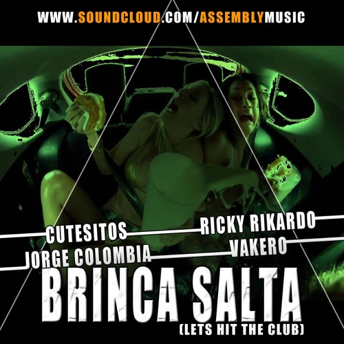 Brinca Salta (Hit The Club Remix Clean) - Cutesitos Ricky Ricardo Jorge Colombia & Vakero