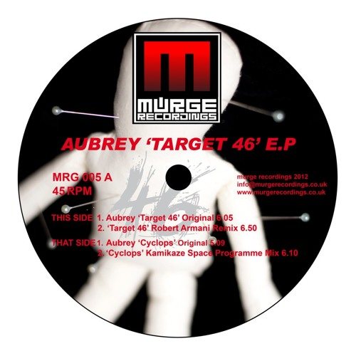 Aubrey - Cyclops ( Kamikaze Space Programme Remix ) Murge Recordings 005
