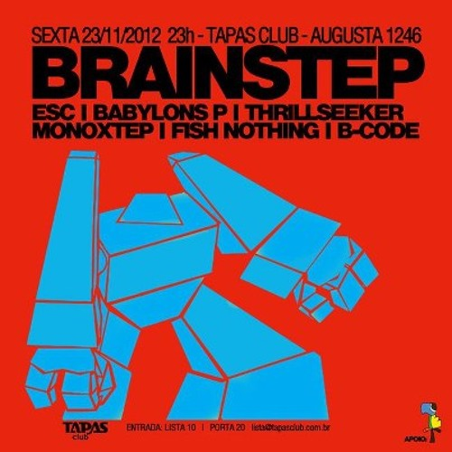 Esc - Minimix - Warm Up :: Brainstep 23/Nov/2012 @ Tapas Club