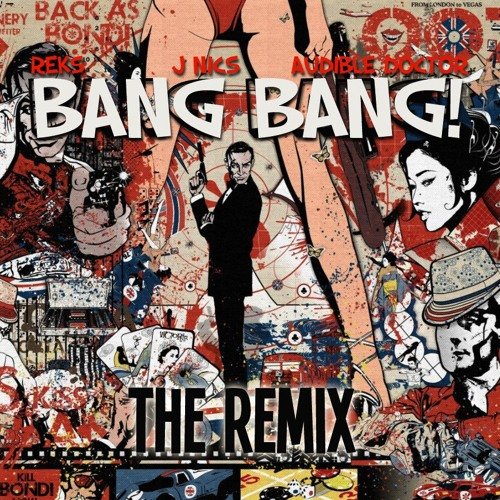 "Reks Feat. J Nics ""Bang Bang (Audible Doctor Remix)"" (Cuts By Audible Doctor)"