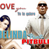 Belinda Feat Pitbull - I Love You Te Quiero Portada del disco