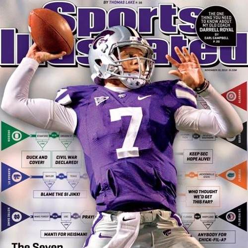 "Facing the Sports Illustrated ""Jinx"" head-on / 11.14.12/ Tyler & Megan"