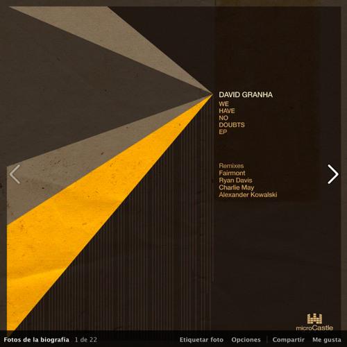 David Granha - Catch Me (Original mix) - microCastle (Preview)