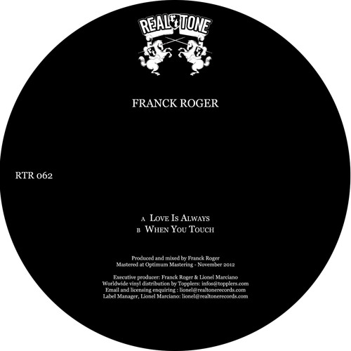 Franck Roger - When You Touch (extract)