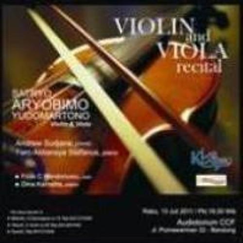 Violin & Viola Recital