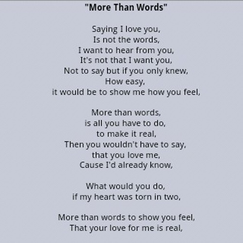More Than Words (cover With @madhapuspit)