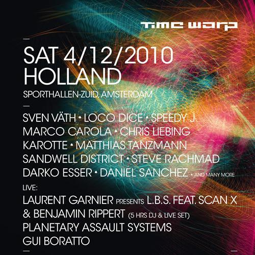 Marco Carola Live @ Timewarp Amsterdam 04.12.2010