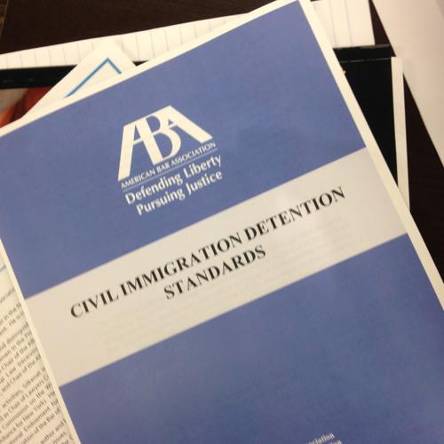 Dialogue on @ABAesq Civil Detention Standards