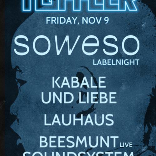 Kabale und Liebe & Lauhaus at SOWESO Labelnight @ Toffler 09-11-2012 part 1/2