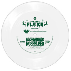 "Agoraphobic Nosebleed ""Merry Chrystmeth"" (dB025)"