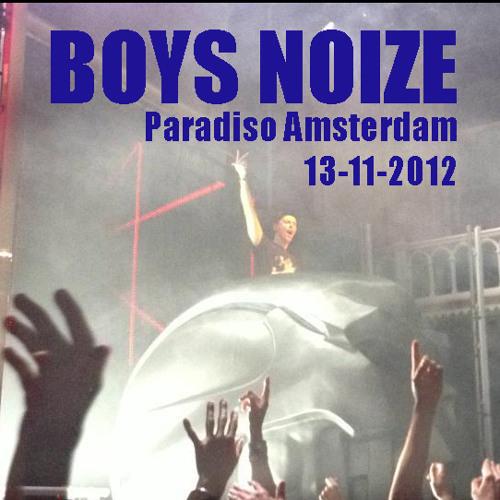 BOYS NOIZE Live @ Paradiso Amsterdam 13-11-2012