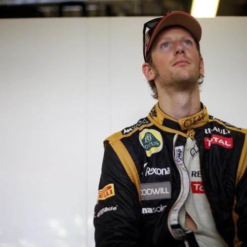 Romain Grosjean on the 2012 United States GP