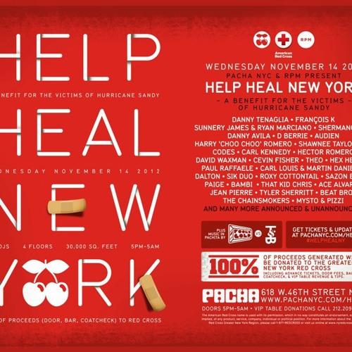 Danny Tenaglia - Live @ Pacha,NYC 14.11.2012