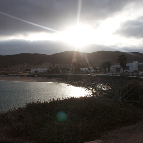 Suddenly the weather changed in La Graciosa