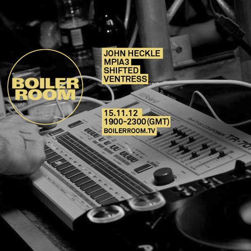 John Heckle live in the Boiler Room