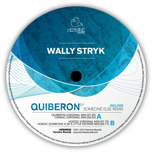 "Wally Stryk - Carnac [Hermine Records 008] // 12"""