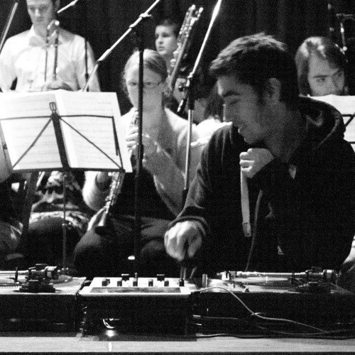 Breakbeat Concerto: JFB samples and scratches the speech.
