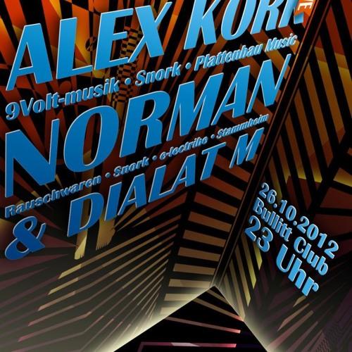 Norman @ Bullit Club München 20121028
