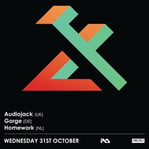 Audiojack @ Flux presents Gruuv Label Showcase, Leeds, UK. 31.10.12