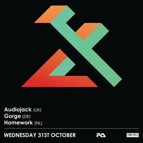 Audiojack @ Flux presents Gruuv Label Showcase, Leeds, UK. 31.10.12
