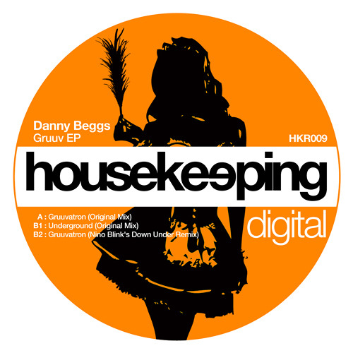 Danny Beggs - Gruuv EP / inc Nino Blink's Down Under Remix