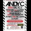 Andy C / IC3 / Serial Killerz / Funsta / Fluid / Network / Mc Unknown @Quake, Woking 08/12/12 Advert