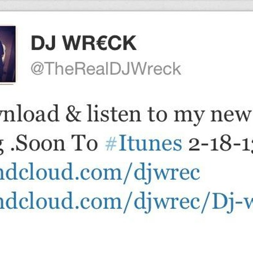 Wreck ((When We Make Love)) NEW!!!!!