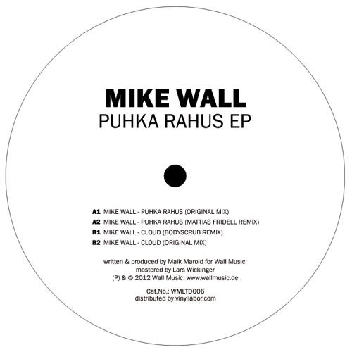 ► mattias fridell remix - puhka rahus (mike wall) (wmltd006) •