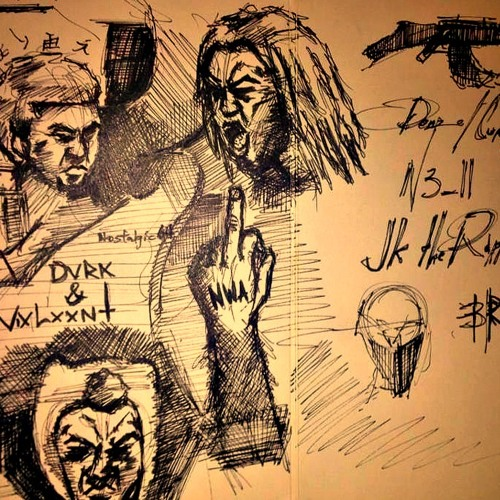 Denzel Curry - Dark & Violent Feat. JK The Rapper & Nell (Prod. By POSHstronaut x KLVN Tyler)